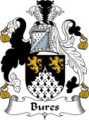 English Coat of Arms for Bures