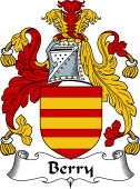 English Coat of Arms for Berry
