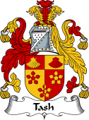 English Coat of Arms for Tash