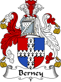 English Coat of Arms for Berney