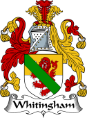 English Coat of Arms for Whitingham