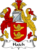 English Coat of Arms for Hatch