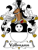 German Coat of Arms for Vollmann