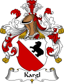 German Wappen Coat of Arms for Kargl
