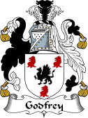 Irish Coat of Arms for Godfrey or MacGoffrey
