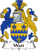 English Coat of Arms for Watt