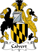 English Coat of Arms for Calvert