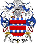 Portuguese Coat of Arms for Alvarenga