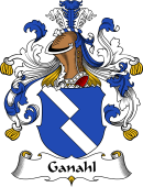 German Wappen Coat of Arms for Ganahl