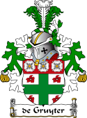 Dutch Coat of Arms for de Gruyter