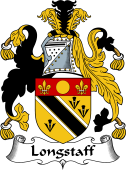 English Coat of Arms for Longstaff