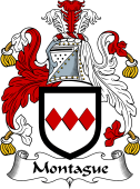 English Coat of Arms for Montague