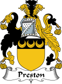 Irish Coat of Arms for Preston