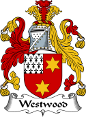English Coat of Arms for Westwood