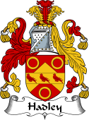 English Coat of Arms for Hadley