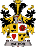 Danish Coat of Arms for Amthor