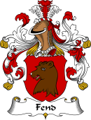 German Coat of Arms for Fend