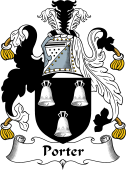 English Coat of Arms for Porter