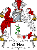 Irish Coat of Arms for O'Hea