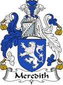 Irish Coat of Arms for Meredith