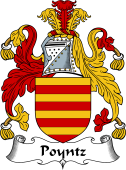 English Coat of Arms for Poyntz