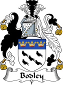 English Coat of Arms for Bodley