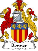 English Coat of Arms for Bonner