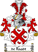 Dutch Coat of Arms for de Raadt