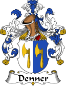 German Coat of Arms for Denner