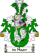 Dutch Coat of Arms for de Haan