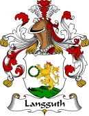 German Wappen Coat of Arms for Langguth