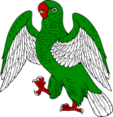 Parrot Rampant Wings Expanded