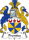 English Coat of Arms for Prentice