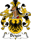 German Coat of Arms for Beyer