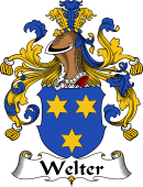 German Wappen Coat of Arms for Welter