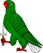 Parrot Rampant Holding TMP