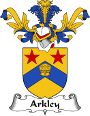 Coat of Arms from Scotland for Arkley