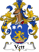 German Coat of Arms for Vett