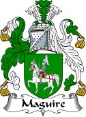 Irish Coat of Arms for MacGuire or Maguire