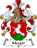 German Coat of Arms for Mezger