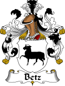 German Coat of Arms for Betz