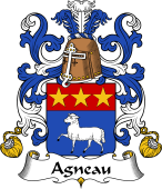 Coat of Arms from France for Agneau