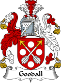 English Coat of Arms for Goodall