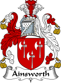 English Coat of Arms for Ainsworth
