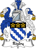 English Coat of Arms for Rigby