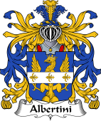 Italian Coat of Arms for Albertini