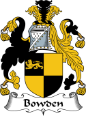 English Coat of Arms for Bowden