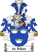 Dutch Coat of Arms for de Moes