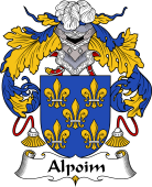 Portuguese Coat of Arms for Alpoim
