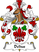 German Coat of Arms for Delius